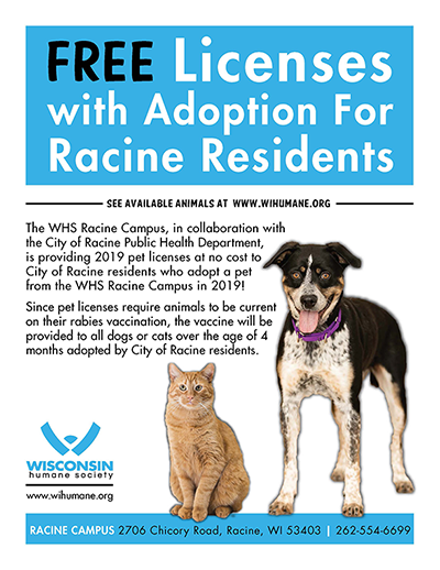 WHS announces effort to increase pet licensing and